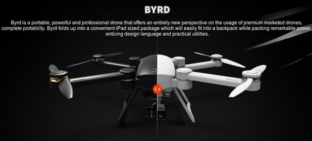 The ProDrone Byrd Is Trumpeted As Industrys Most Powerful And Portable Consumer Drone