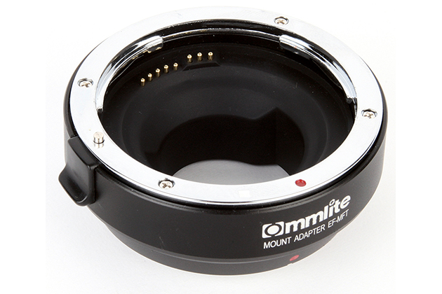 commlite cm ef mft mount adapter review amateur photographer. Black Bedroom Furniture Sets. Home Design Ideas