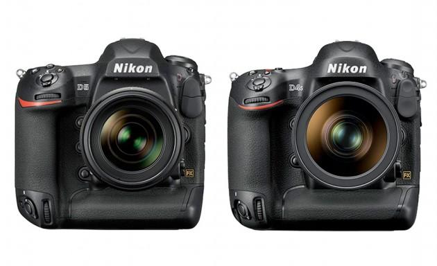 Nikon D5 vs Nikon D4s