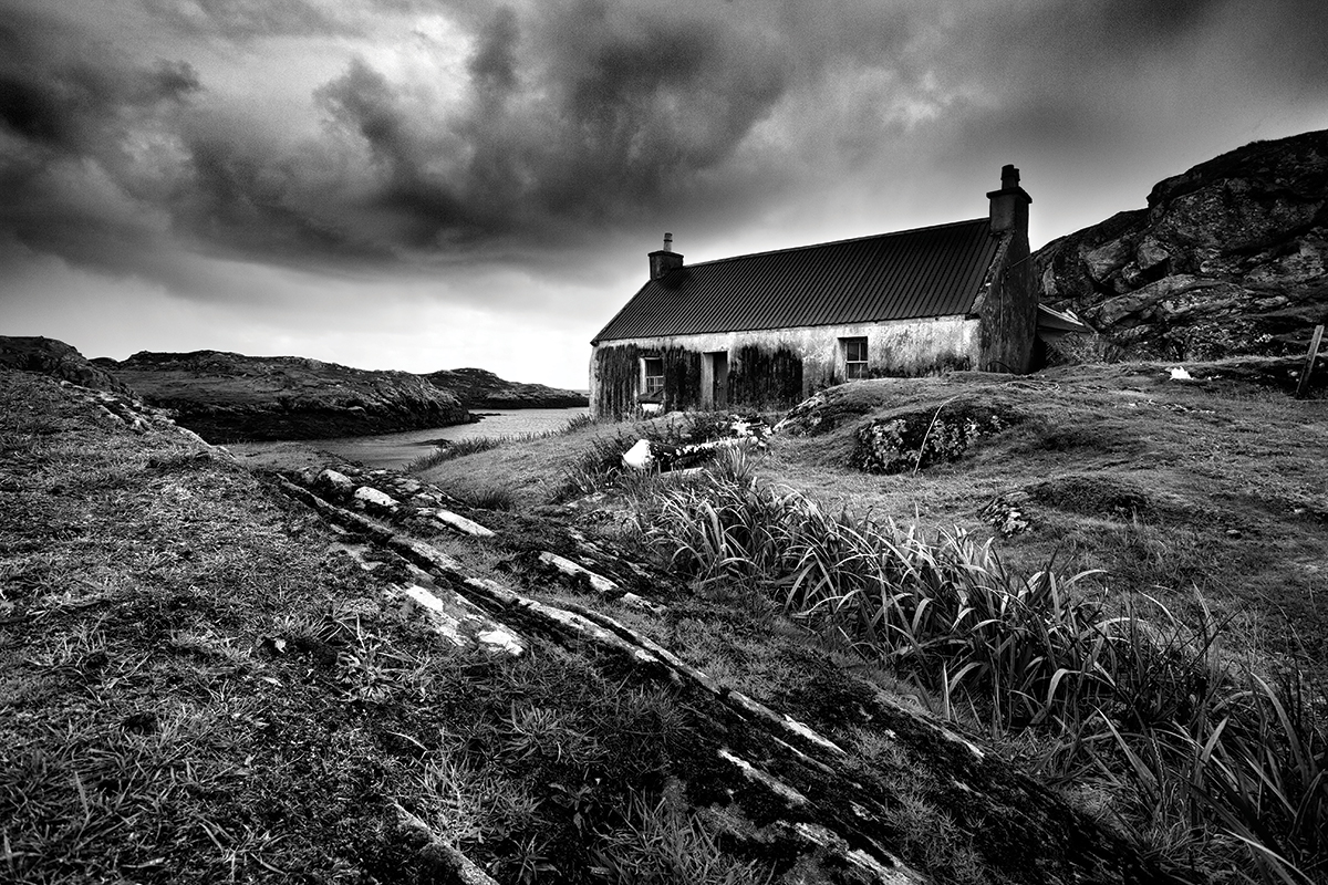 The best subjects for black white isle of harris outer hebrides landscapes are perhaps the most popular subject for black