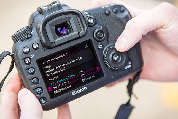 Using custom functions on your Canon 7D Mark II - Amateur Photographer