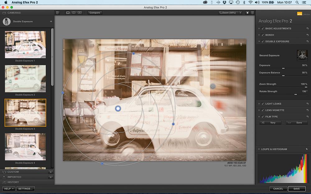 how to use analog efex pro 2 double exposure