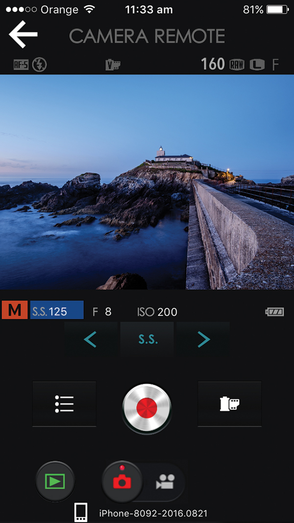 fujifilm camera remote app android
