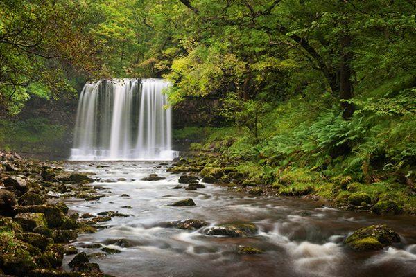 jeremy walker sgwd yr eira waterfall