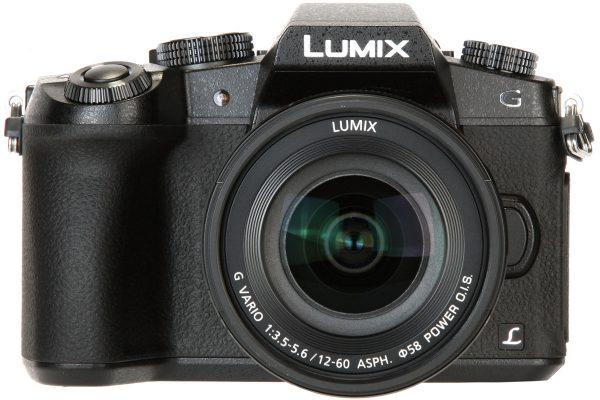 Panasonic Lumix DMC-G80 front