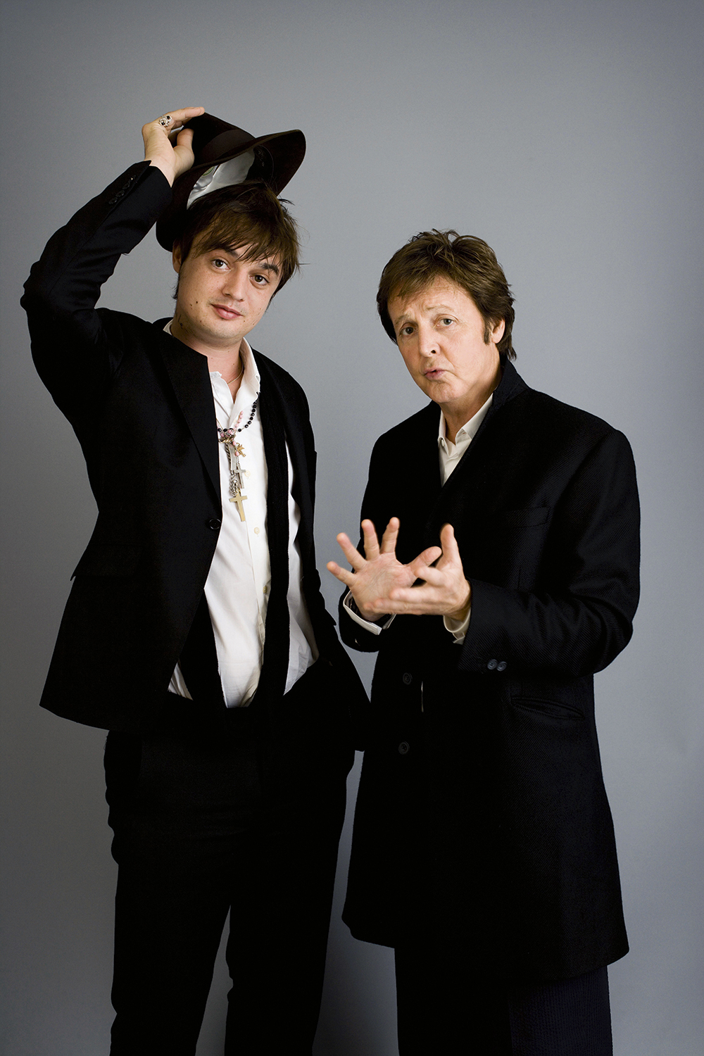 Harry Borden Paul McCartney and Pete Doherty