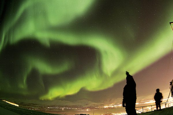 Pete Lawrence aurora borealis