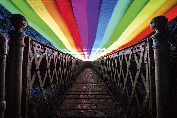 Light sources Pixelstick rainbow