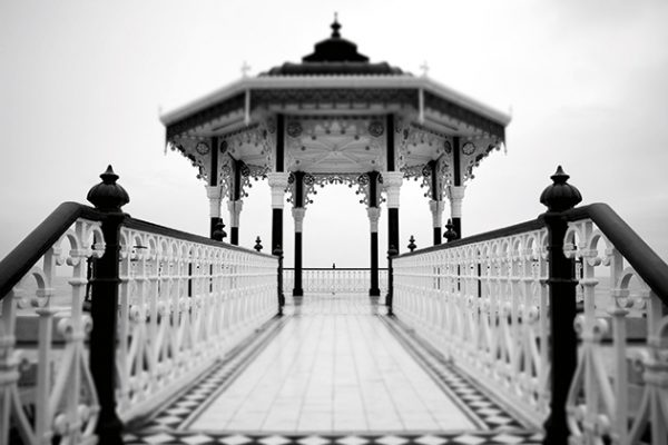 Tracy Calder Brighton bandstand