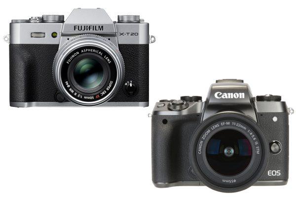 Fujifilm X-T20 vs Canon EOS M5 - Amateur Photographer