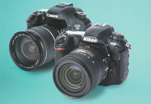Canon EOS 7D Mark II vs Nikon D500