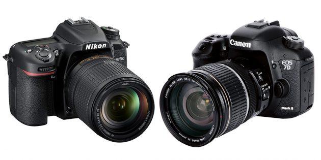 D7500 vs canon 7d