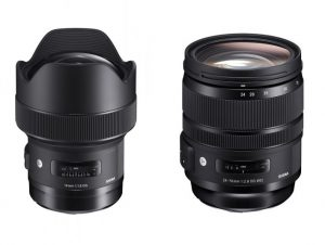 Sigma reveals pricing and availability for its upcoming 14mm and 24-70mm Art lenses