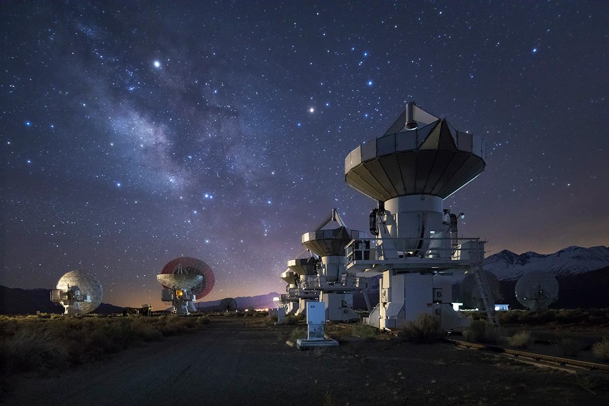 Photo insight with David Clapp: Radio telescopes, Sierra ...