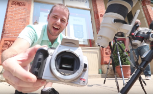 Photographer melts sensor shooting the sun without a filter in eclipse warning video