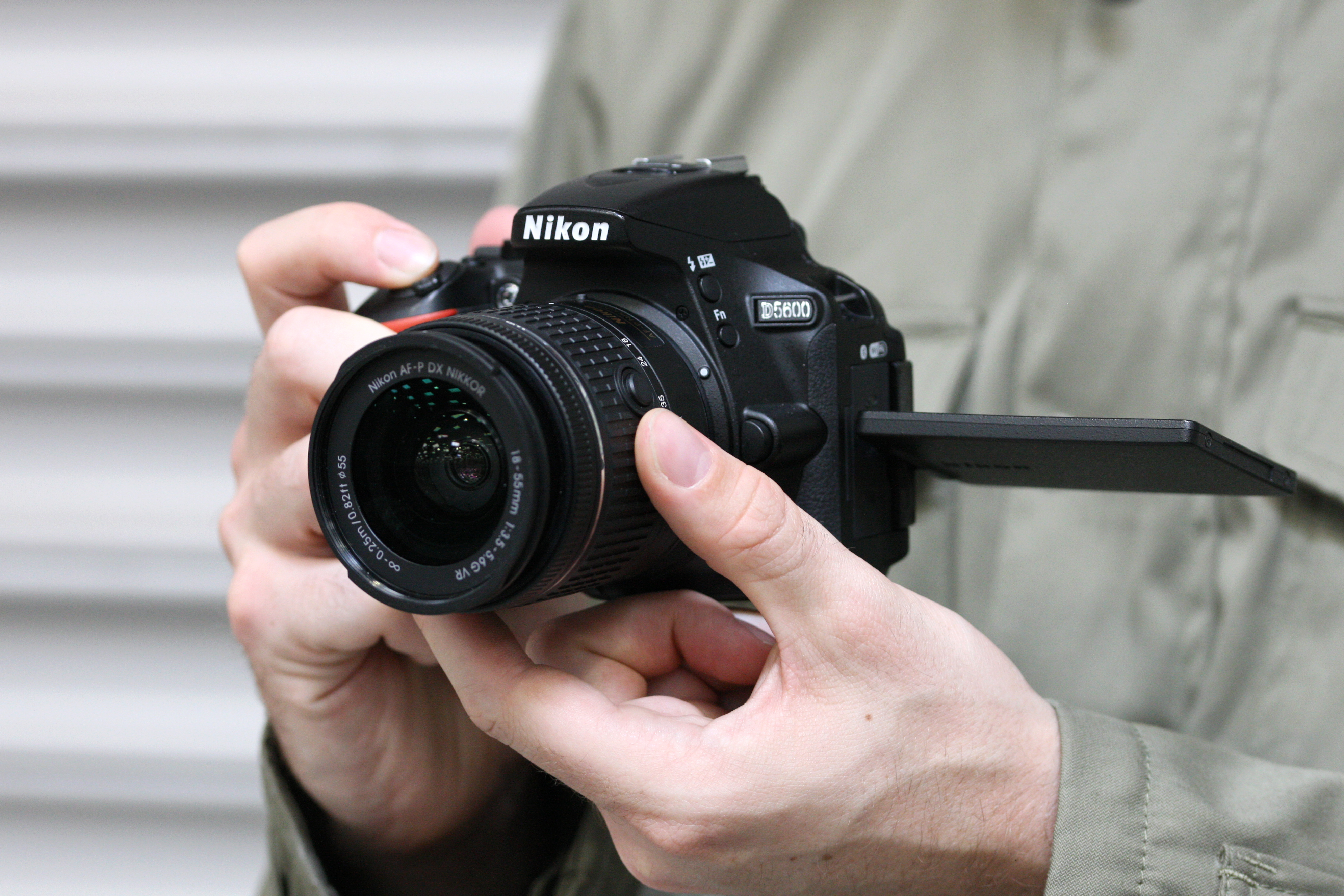 Nikon D5600 - an advanced DSLR camera for enthusiast photographers