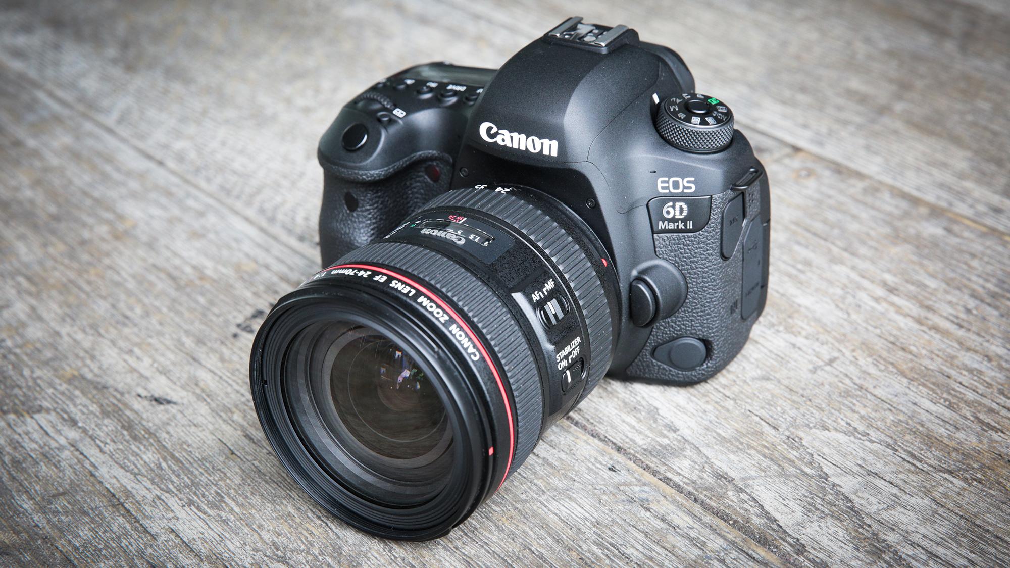 Canon Eos 6d Mark Ii Canon S Junior Full Frame Dslr Gets