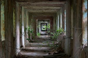 Photograph of abandoned military hospital wins Historic Photographer of the Year