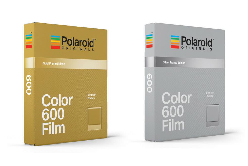 4494e3fd0f5 Polaroid Originals release gold and silver framed film - Amateur  Photographer