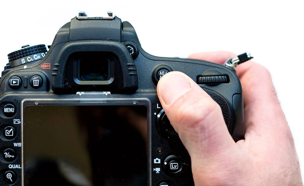 Autofocus Back-button focusing