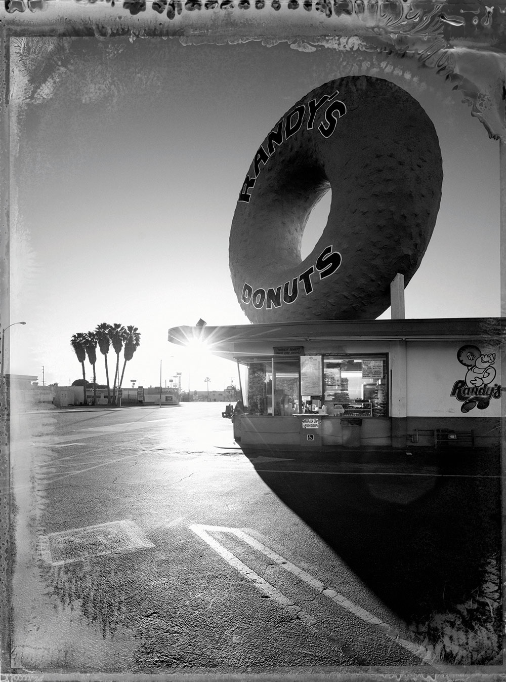 Lost in LA Randys Donuts Beautiful Polaroids of LA by Christopher Thomas