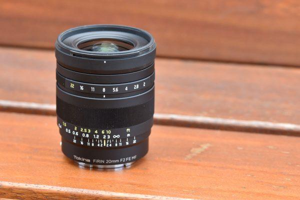 Tokina Firin 20mm F2 hyperfocal