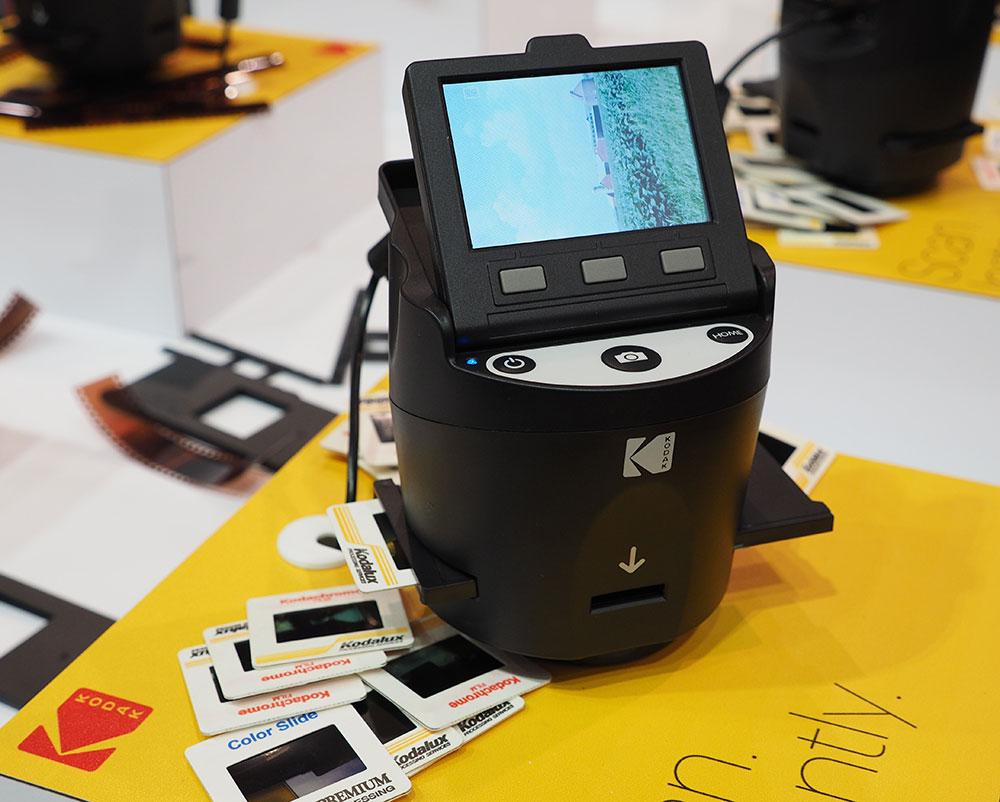 Kodak launches compact budget film scanner