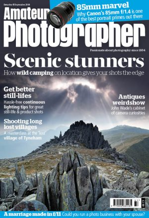 Amateur Photographer 15 September 2018 cover for web