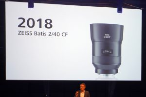 Zeiss announces Batis 40mm F2