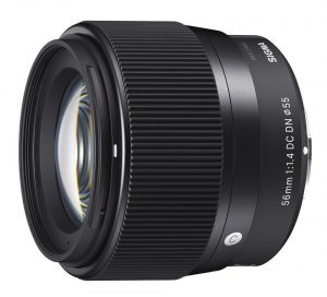 Sigma announces 56mm f/1.4 DC DN for Micro Four Third and E mount mirrorless cameras