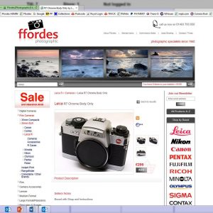 Major robbery at Ffordes – Leica fans watch out