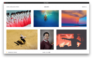 Picfair lets you set up personalised photo store