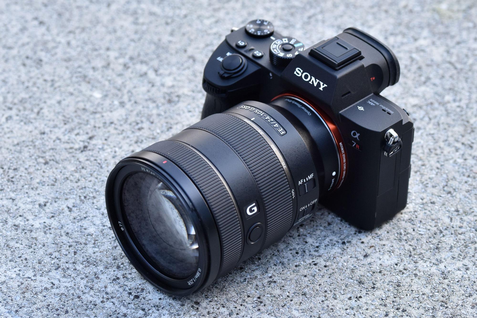 Sony 24 105mm On A7R III
