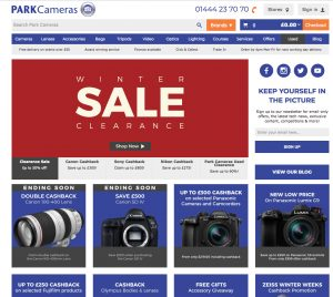 Good January sale deals from Park Cameras