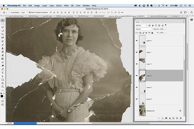 Restore old prints with Photoshop Elements - Amateur Photographer