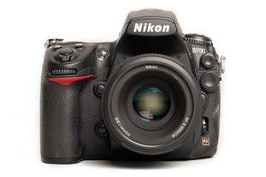 Nikon D700 front