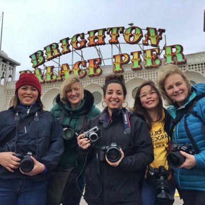 Five ladies shooting