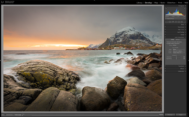 Beat lens distortion with Lightroom