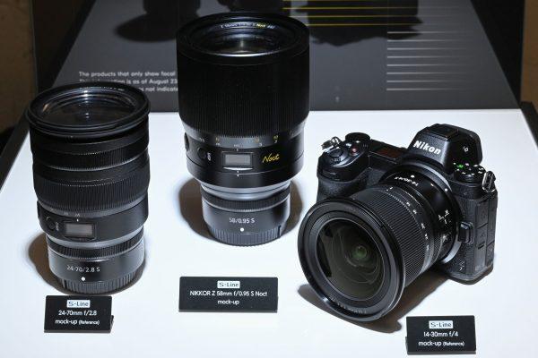 Nikon S lens mockups