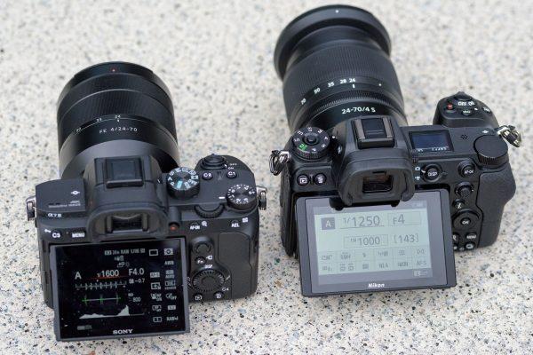 Nikon Z7 vs Sony A7III
