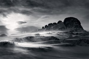 How to photograph black & white winter landscapes