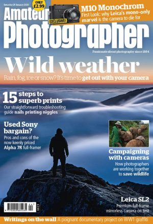 Amateur Photographer 25 January 2020 cover for web