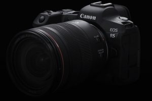 Canon EOS R5 front left