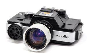 The Minolta 110 Zoom SLR - 110 film cameras