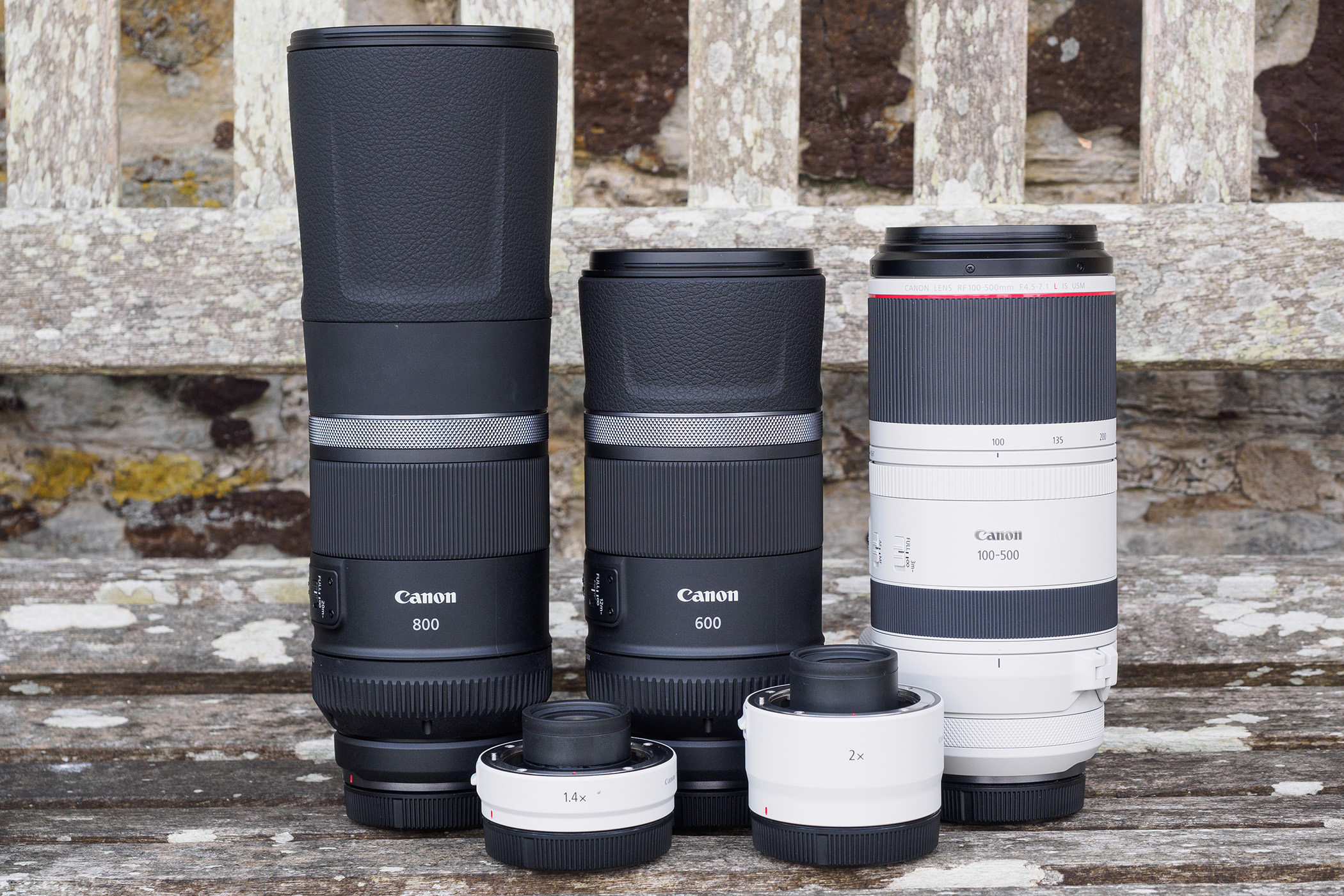 Canon reveals four RF telephoto lenses and two teleconverters - first look - Amateur Photographer