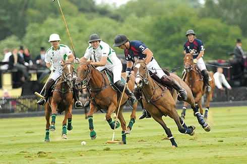 Queen's Cup at Guards Polo Club