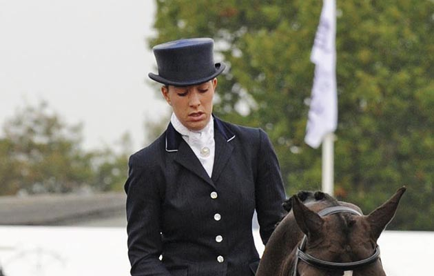 Hughes and dujardin dominate national dressage for Dujardin hugues