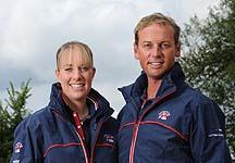 Charlotte Dujardin and Carl Hester
