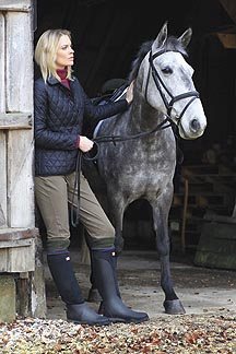 Win Hunter's new Balmoral Equestrian Neoprene Boots - Horse & Hound