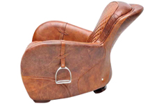 Unique Chair Inspired By The English Saddle